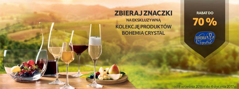Promocja Bohemia Crystal w Tesco – rabat za naklejki