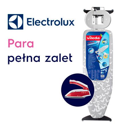 Żelazko lub deska do prasowania w prezencie od Electrolux