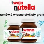 Twoja Nutella – Etykieta z własnym nadrukiem