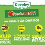 Testowanie produktów Develey – zwrot gotówki