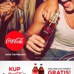 Promocja – szklanka Whisky od Coca-Cola