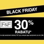 BLACK FRIDAY – F&F rabat 30%