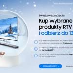 Samsung cashback TV – zwrot gotówki do 1300 zł