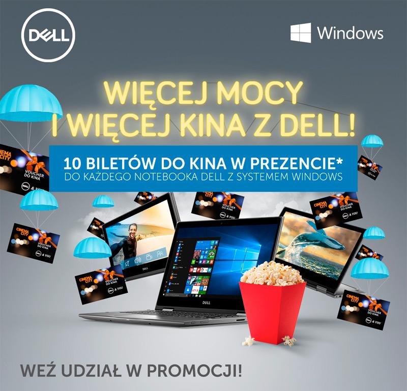 Promocja Dell – darmowe bilety do kina