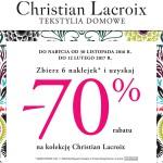 Promocja Carrefour – Christian Lacroix rabat za naklejki