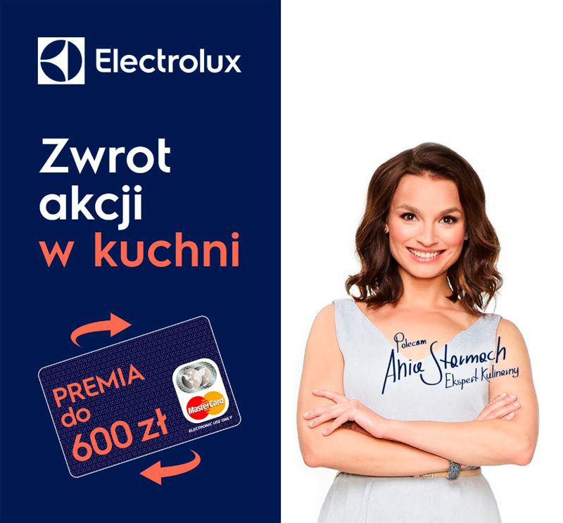 Promocja Electrolux – zwrot akcji w kuchni