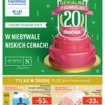 Promocja 20-dniowa Carrefour (15-21 lutego 2017)