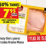 Biedronka – filet z kurczaka 50% taniej