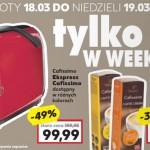 Kaufland promocja Cafissimo (18-19 marca 2017)