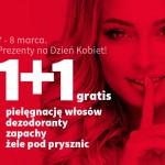Rossmann promocja na Dzień Kobiet 1+1 gratis