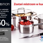 Produkty Ambition z rabatem za naklejki w Carrefour