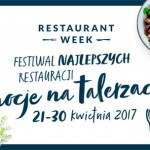 Restaurant Week od 21 do 30 kwietnia