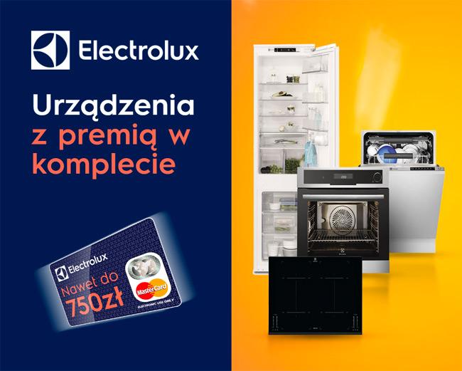 Electrolux zestaw z premią – zwrot do 750 zł