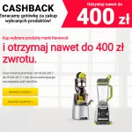 Kenwood Cashback – zwrot do 400 zł
