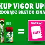 Bilet do Multikina gratis za zakup VigorUp