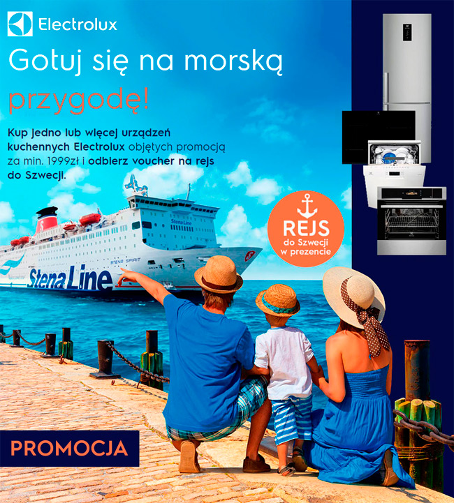 Electrolux – Rejs do Szwecji w prezencie