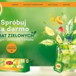 Spróbuj herbaty zielonej lub ziołowej Lipton za darmo
