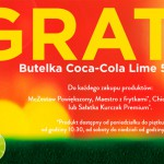 Coca-Cola Lime 500 ml gratis w McDonald's