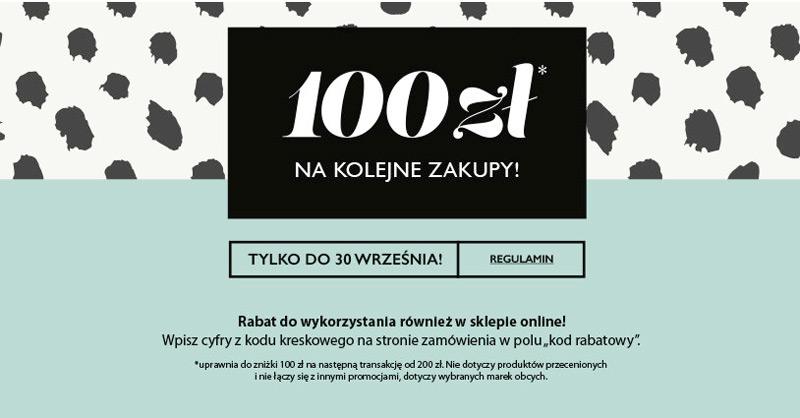 Home&you bon 100 zł za każde wydane 100 zł