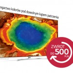 LG zwrot do 500 zł za zakup telewizora