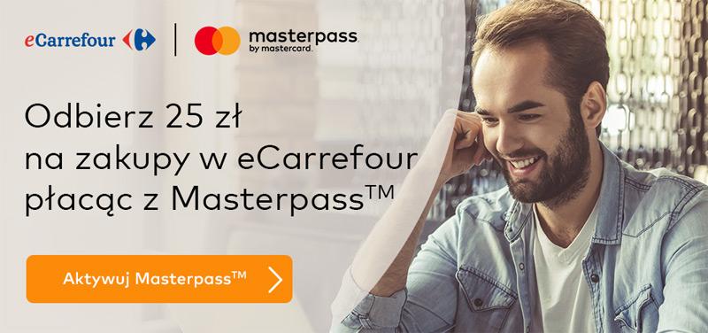 eCarrefour promocja Masterpass