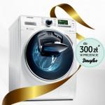 Promocja pralki Samsung AddWash – bon Douglas w prezencie