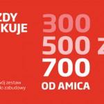 Promocja AMICA Każdy Zyskuje – zwrot do 700 zł