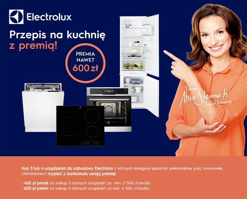 Electrolux premia za urządzenia kuchenne do 600 zł