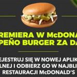 Promocja McDonald's burger jalapeno za darmo