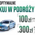 W drogę z kontem BGŻ BNP Paribas – do 400 zł premii