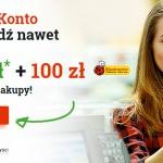 mBank premia 100 zł do Biedronki i do 650 zł zwrotu za założenie konta