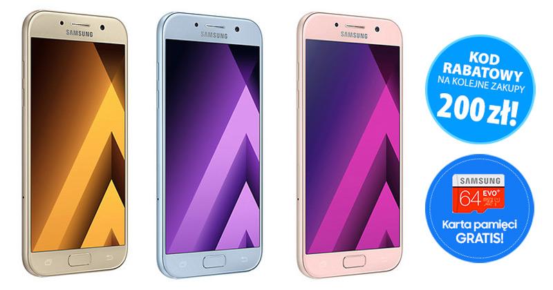 Promocja na Samsung Galaxy A5 2017 SM-A520F