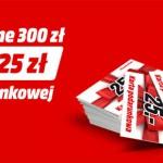 W Media Markt za każde wydane 300 zł otrzymasz 25 zł