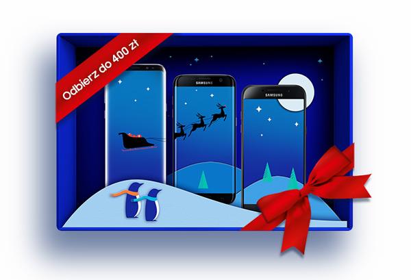 Świąteczna promocja Samsung Galaxy S8, S7 Edge i A5