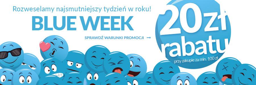 empik.com 20 zł rabatu na Blue Week