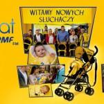 Wózek dla dziecka za darmo od RMF FM