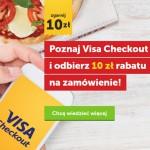 10 zł rabatu z Visa Checkout na PizzaPortal
