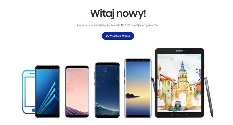 Samsung zapłaci do 1720 zł za stary smartfon