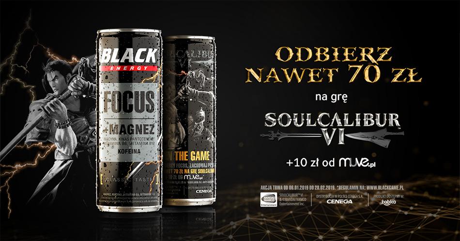Promocja Black w sklepach Żabka: rabat na zakup gry Soulcalibur VI