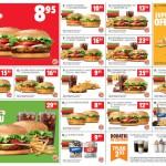 Kupony rabatowe Burger King (styczeń / luty / marzec 2019)