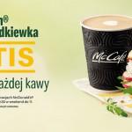 McDonald's McMuffin Twarożek i Rzodkiewka gratis do kawy